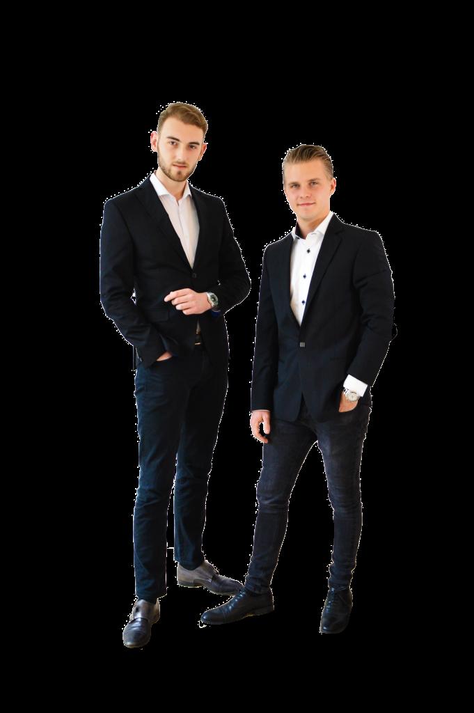 twee vrienden die horloges verkopen voor de beste prijs!