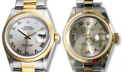 Deel 2 over de echte en neppe Rolex horloges